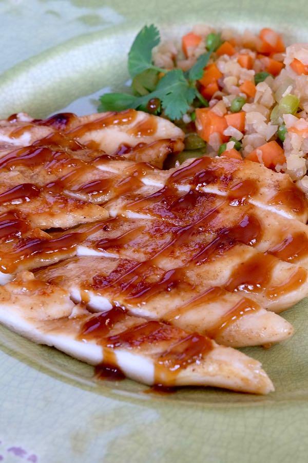 Glazed Ginger Chili Chicken Mia S Cucina
