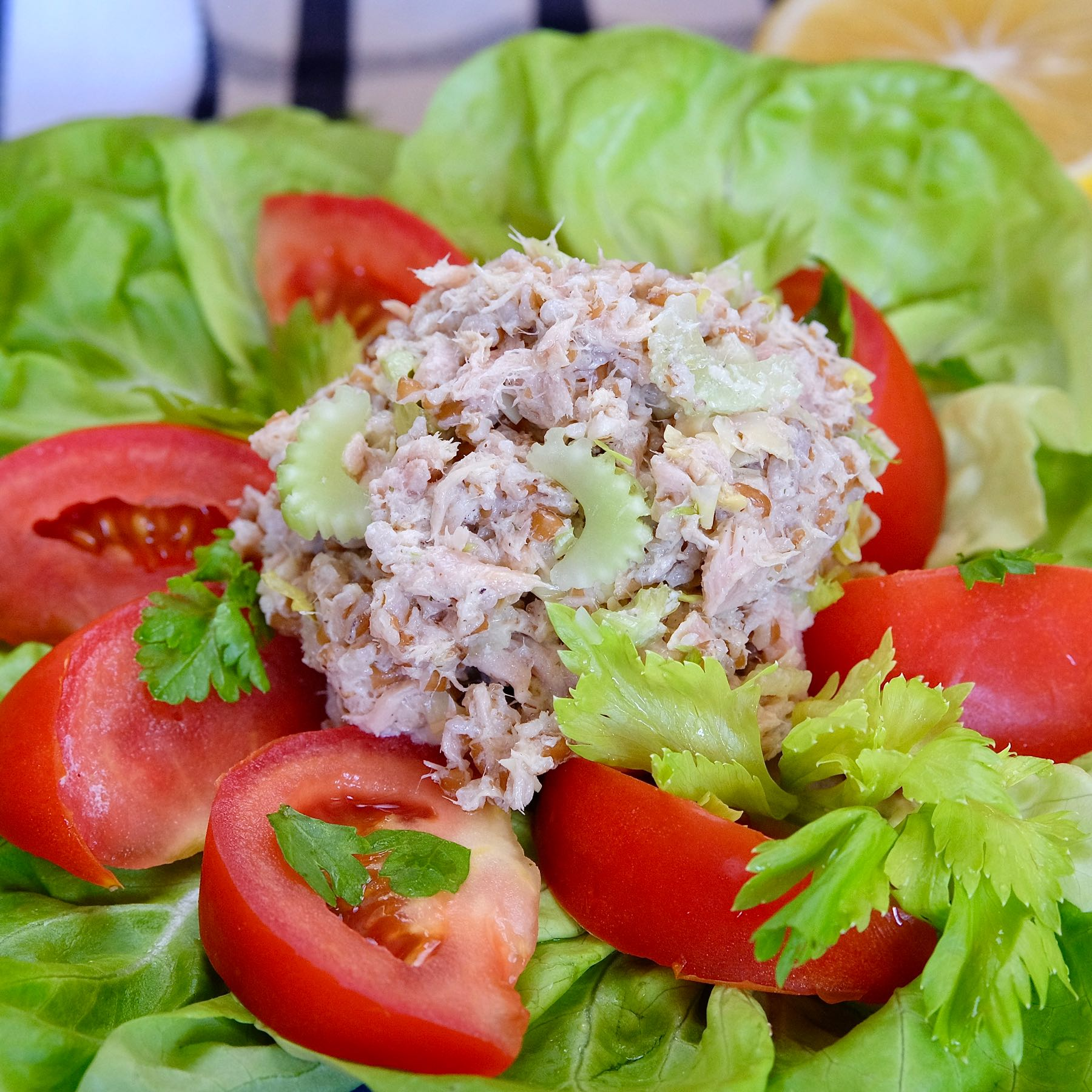 Tuna Salad With Greek Dressing Mia S Cucina